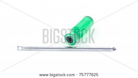 Green Reversible Screwdriver