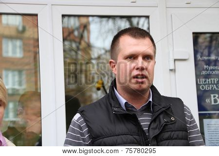 The Head Of The Electoral Headquarters Of Opposition Activist Yevgenia Chirikova, Nikolai Laskin