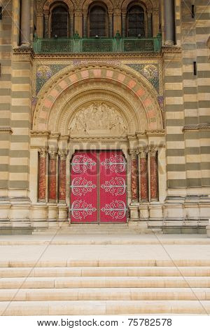 Cathedrale De La Major Entrance