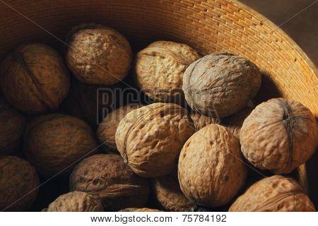Bowl of walnut