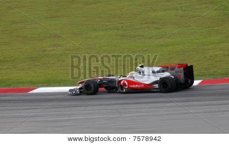 Formula 1. Sepang. April 2010