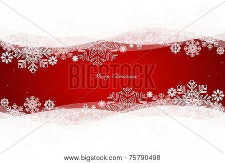 Christmas background, vector illustration.
