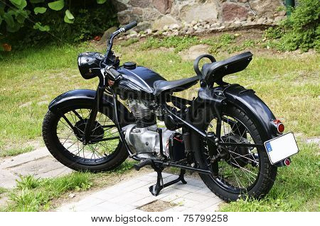Antique Motorcycle