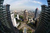 foto of petronas towers  - Office at Petronas Twin Towers - JPG