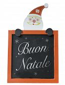 pic of natal  - Christmas Blackboard written Merry Christmas  - JPG