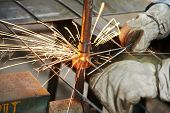 pic of welding  - Spot welding machine - JPG