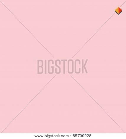 Seamless  Triangle Half Tone Color  Vector Illustration