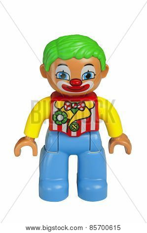 Clown Lego Duplo Minifigure