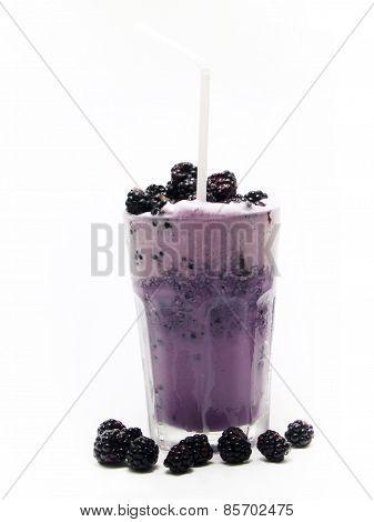 Cocktails Collection - Blackberry Milkshake