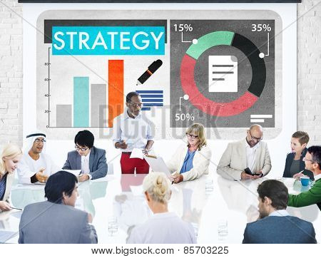 Strategy Analysis Business Meeting Concept
