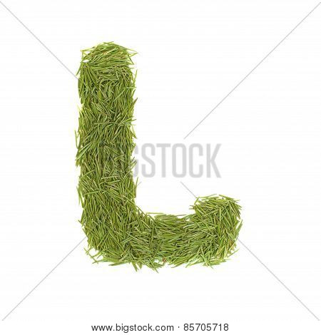 Green Alphabet, Letter L