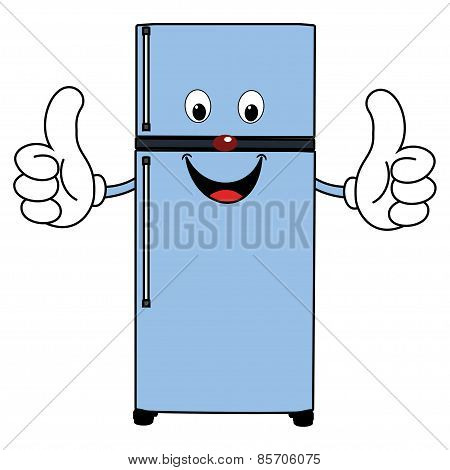 Happy Cartoon Fridge