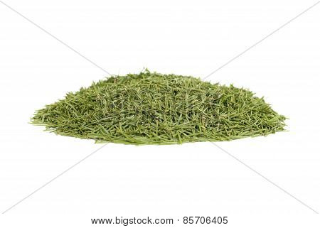 Stack Of Green Needles