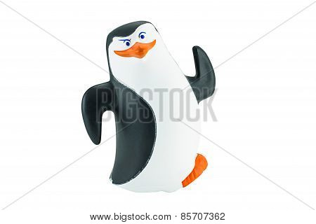 Rico Penguin Toy Character Form Penguins Of Madagascar Animation Film.