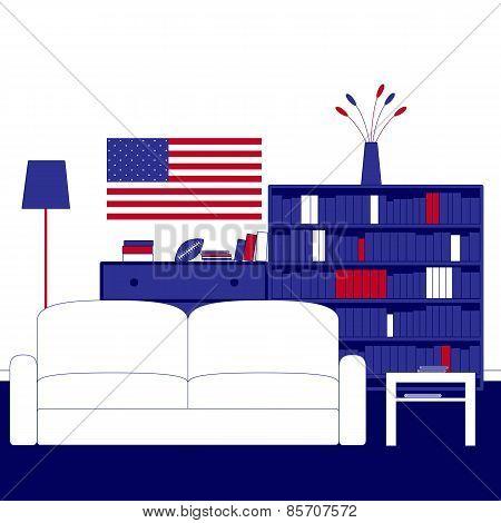 American Room Interior