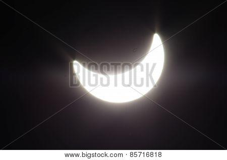 Solar eclipse.