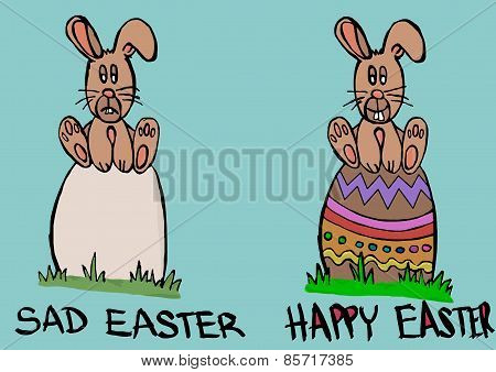 Sad Or Happy Easter