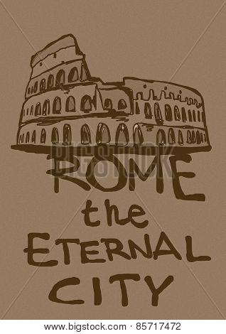 Rome The Eternal City Vintage