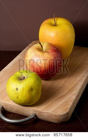 Three Types Of Apples