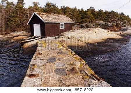 Wooden Boat Building, Norway