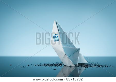 Sinking Greece