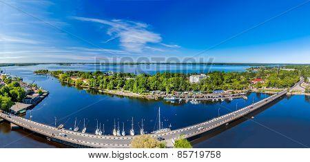 Vyborg City Panorama