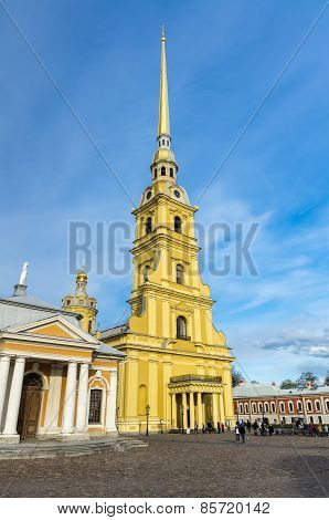 View On Peter And Paul Cathedral
