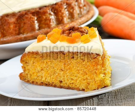 Piece Of Carrot Pie