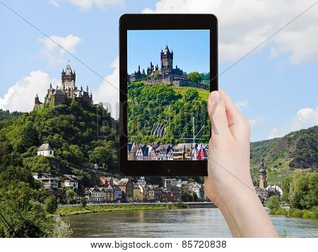 Tourist Photographs Of Cochem Town, Germany