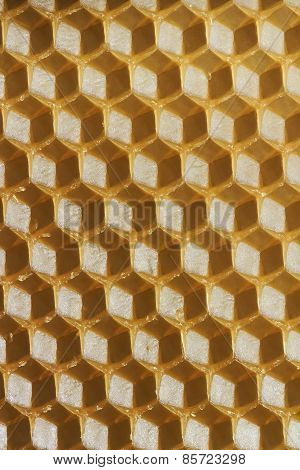 Beeswax honeycomb  background