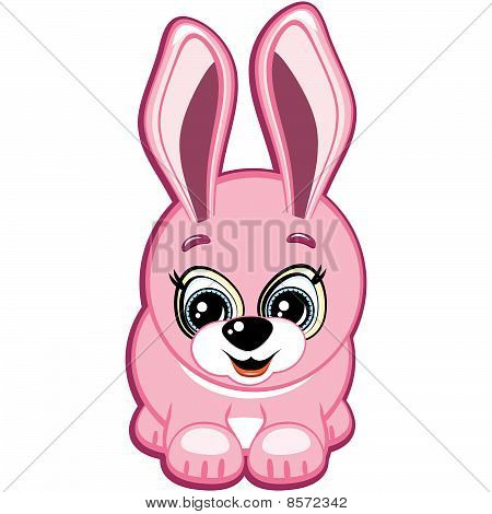 Little Bunny. Vector.