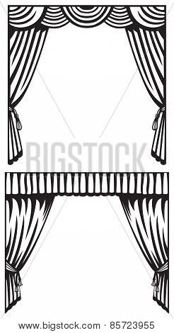 Silhouette curtain