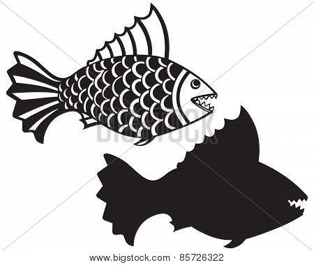 Fish piranha