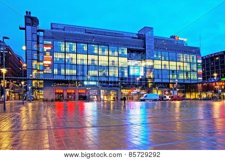 Helsinki. Finland. Kamppi Shopping Center