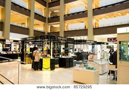Helsinki. Finland. Stockmann Deparment Store
