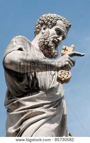 Saint Peter With Eden Key