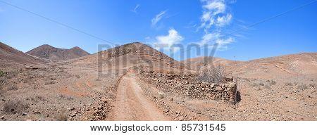 Fuerteventura - Trail from Tiscamanita to Toto