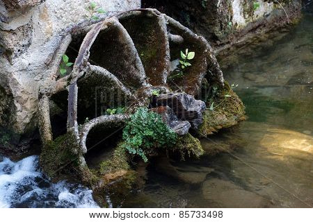 Watermill Wheel