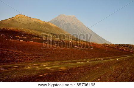 Dry Volcanic Landscape