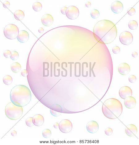 Soap Bubble White