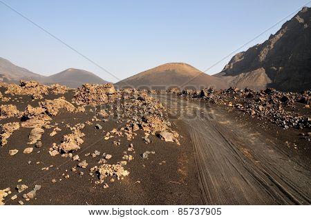 Road Through Volcano Park