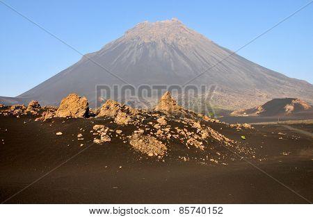 Volcano Peak Ahead