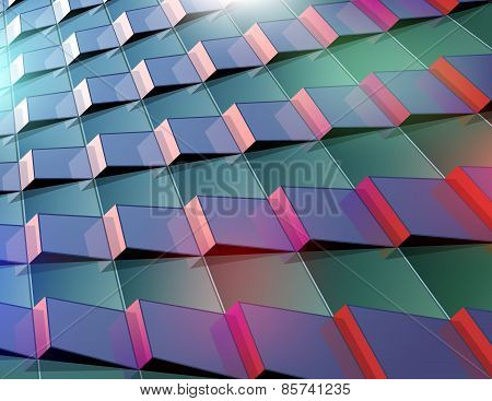 Abstract Background In Urban Style
