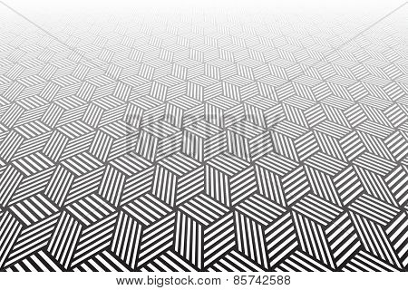 Abstract geometric textured background. Vector art.