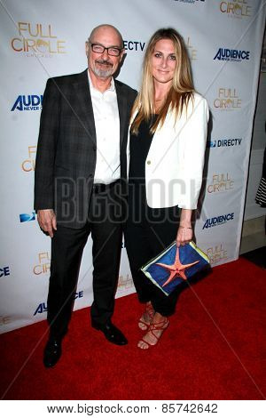 LOS ANGELES - MAR 16:  Terry O'Quinn, Kate Patterson at the DirecTV's