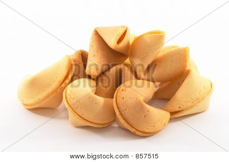 Many Chinese Fortune Cookies