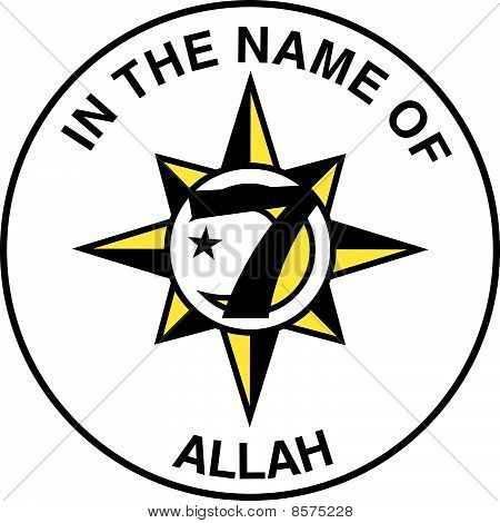 Five Percent Nation of Islam Flag