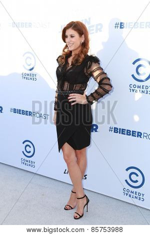 LOS ANGELES - MAR 14:  Kate Walsh at the Comedy Central Roast of Justin Bieber at the Sony Pictures Studios on March 14, 2015 in Culver City, CA