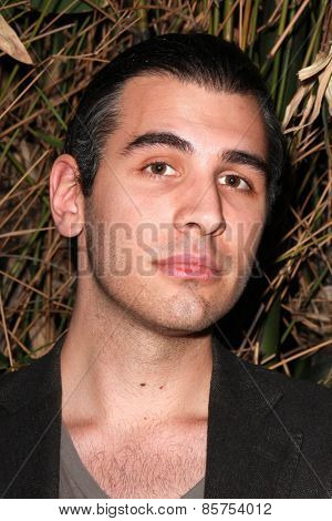 LOS ANGELES - MAR 12:  Nick Simmons at the Kode Magazine Spring 2015 Cover Party at the The Standard on March 12, 2015 in West Hollywood, CA