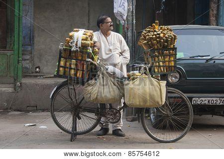 Man Selling Aromas
